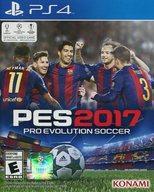 【中古】PS4ソフト 北米版 PES2017 -PRO EVOLUTION SOCCER-(国内版本体動作可)