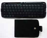 【エントリーでポイント10倍!(6月11日01:59まで!)】【中古】携帯電話 Bluetooth 折りたたみキーボード (ブラック) [TK-FBP019EBK] (状態:本体のみ/本体状態難)