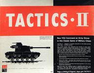 【エントリーでポイント10倍!(9月26日01:59まで!)】【中古】ボードゲーム [破損品/ユニット切り離し済み/日本語訳無し] タクティクスII (Tactics II)画像