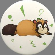 【中古】バッジ・ピンズ(男性) うらたぬき(やまだぬきcute) 缶バッジくじ 「Uratanuki Birthday Live cute style & cool style」
