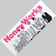 【エントリーでポイント10倍!(9月26日01:59まで!)】【中古】タオル・手ぬぐい(キャラクター) Honey Works(ホワイト) マフラータオル 「いつだって僕らの恋は10センチだった。 スペシャルイベント」画像