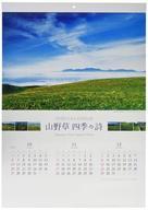 【中古】カレンダー 山野草四季の詩 2020年度カレンダー