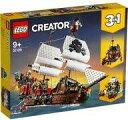 【エントリーでポイント10倍!(9月26日01:59まで!)】【中古】おもちゃ LEGO 海賊船 「レゴ クリエーター」 31109