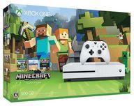 【中古】Xbox Oneハード XboxOneS本体 500GB (Minecraft同梱版) (状態:箱状態難※内箱含む)