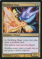 トレーディングカード・テレカ, トレーディングカードゲーム RJudge RewardsDCI R FOILMeddling Mage