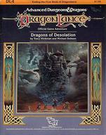 【エントリーでポイント10倍!(9月26日01:59まで!)】【中古】ボードゲーム [ランクB] Dragonlance: Dragons of Desolation (Advanced Dungeons & Dragons/Adventure DL4)画像