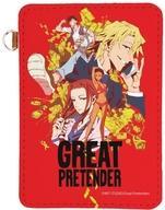 【中古】雑貨 01.キービジュアル レザーパスケース 「GREAT PRETENDER」画像