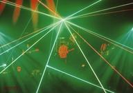 """【中古】生写真(男性)/ロックバンド ヒトリエ/集合(4人)/ライブフォト・横型・全身・レーザービーム・照明緑/DVD・BD「HITORIE LIVE TOUR UNKNOWN 2018 """"Loveless""""- 2017 """"IKI""""」Amazon購入特典ビジュアルシート(ブロマイド)【タイムセール】画像"""