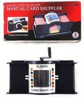 【エントリーでポイント10倍!(9月11日01:59まで!)】【中古】ボードゲーム [破損品] 手動カードシャッフラー 2デック用 (Manual Card Shuffler)画像