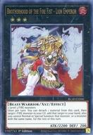 【中古】遊戯王/英語版/UR/エクシーズモンスター/獣戦士族/炎/ランク3/Battles of Legend:Armageddon BLAR-EN066[UR]:Brotherhood of the Fire Fist - Lion Emperor/炎星皇−チョウライオ