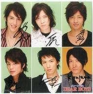 【中古】紙製品 キャスト直筆サイン色紙C 「ミュージカル DEAR BOYS」 写真セット購入特典画像