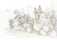 中古 アニメムック鬼滅の刃Blu-ray/DVD10巻ufotable購入特典複製原画柱 中古 afb