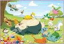 【新品】パズル ぽかぽかのんびりタイム 「ポケットモンスター」 ジグソーパズル 108ラージピース [108-L762]