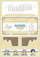 【25日24時間限定!エントリーでP最大26.5倍】【中古】カレンダー あんさんぶるスターズ! fine 卓上アクリル万年カレンダー