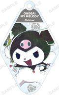 【中古】雑貨 クロミ(ロゴ上) 「おねがいマイメロディ トレーディング Ani-Art アクリルキーホルダー」画像
