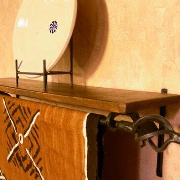 ツイストハンガーM アイアンバー 鉄棒 ハンガー バー 天井 吊り下げ パーツ カーテン ポール ファブリック 布掛棒 おしゃれ カーテンレール インテリア