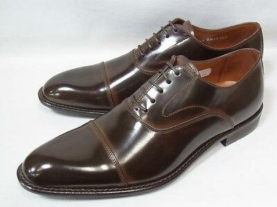 ケンフォード正規品ストレートチップKENFORDKB48AJDBRダークブラウンリーガル人気紳士靴