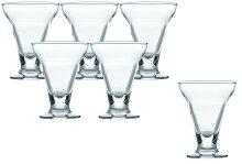 パフェグラスアイス・サンデーカップ195ml6個入り36201HS東洋佐々木ガラス