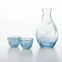 送料無料ギフトとっくりおちょこ令酒セット盃2個55mlと徳利1個300mlのセット酒グラスコレクション東洋佐々木ガラス