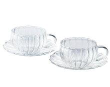 耐熱ガラスティーカップペアセットティーフォーツー240mlYF-1003Wギフト45515047044543