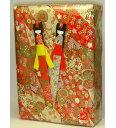 伝統美日本製友禅染め和紙美濃和紙使用和紙文庫箱+しおり(栞 )2枚 (大サイズ)文庫箱しおりお品は赤系、青系の2種類からご選択ください。○本品の柄は当店にお任せ頂くようになります。〈ブック入れ ぶんこばこ 手箱 通販〉