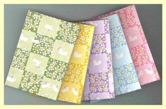 討價還價 ! 辦公用品添加顏色的兔子選擇從 5 種類型的綠色便條紙紙筆記書兔子和櫻花,黃色、 紫色、 藍色和粉紅色。