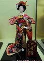 久月作 日本人形(尾山人形) 6号 正絹 【安曇野】 Japanese doll 〈日本の伝統品 にほんにんぎょう 和人形 お人形 和の置物・お飾り・インテリア 日本のおみやげ 海外・外国へのお土産・プレゼントにもおススメです! 通販〉・・・