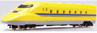 鐵路收藏微型火車愛好玩具模型 N 規模和 N 規模 JR 東海和 JR 西日本新幹線電動軌道一般測試新幹線類型 923 博士黃 q 火車火車模型火車模型火車模型微型子彈頭列車新幹線微型車需要玩具嗎?