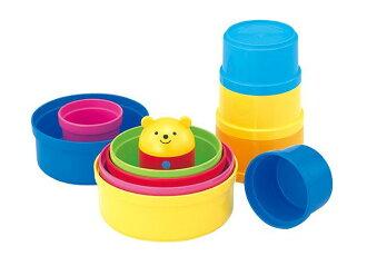 在累積玩具愉快針對能玩的玩具、嬰兒的玩具訓練玩具,重復,玩的經典的杯子gasane〈小孩事情玩具小孩小孩的玩具幼兒玩具嬰兒事情嬰兒玩具杯子把上杯子重疊郵購〉