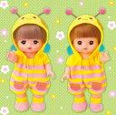 楽しく遊べる玩具・着せ替え人形 愛育ドールのメルちゃん きせかえセット みつばちベビーオール ※人形は別売りです。 〈大人・子供向けおもちゃ 女の子向け コレクション きせかえ人形 ファッションドール 洋服 衣装 着替え お世話遊び 知育玩具〉