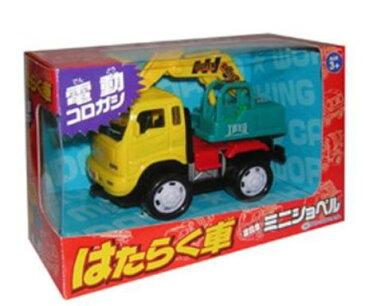トラックコレクション カーコレクション 趣味の玩具・模型 たのしいおもちゃたち ハイメカシリーズ はたらく車 建設車ミニショベル 〈自動車模型 車両模型 子供用玩具 こどものおもちゃ ミニカー 働く車 ショベルカー パワーショベル shovel〉