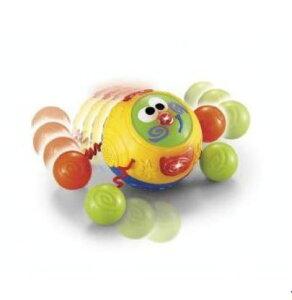 玩具 楽しく遊べるおもちゃ・ベビー向けおもちゃ フィッシャープライス カラフルな4つのボールがパタパタ転がる まてまてデングリくん 〈子供用玩具 こどものおもちゃ 乳児・幼児 オモチャ 赤ちゃん用 おいかけっこ はいはい ハイハイ〉