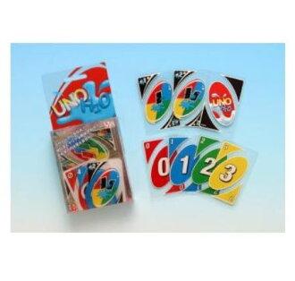 也能在誇耀不動的人氣的經典的紙牌遊戲水中被閒置的透明塑膠! 能用所有的針對防水類型H2O unokadogemu〈玩具玩具大人、小孩的玩具許多人被閒置的桌遊uno UNO uno Playing cards〉