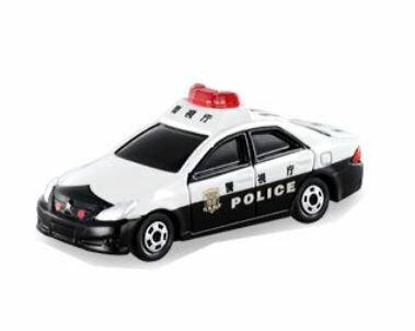 車, ミニカー・トイカー  No.110 CROWN patrol car