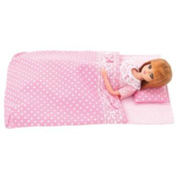 楽しく遊べる玩具・着せ替え人形 リカちゃん人形 LG-08 リカちゃんグッズ おふとんセット ※人形は別売です 〈大人・子供向けおもちゃ 女の子向け コレクション きせかえ人形 ファッションドール 香山リカ Licca-chan 洋服 衣装 着替え〉