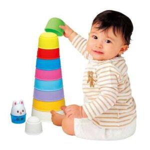 玩具 楽しく遊べるおもちゃ・ベビー向けおもちゃ トレーニングトイ 積んで、重ねて!お風呂でも遊…