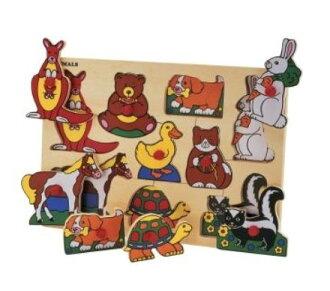 動物玩具木制益智好玩的玩具玩動物拼圖,益智匹配益智匹配益智玩具商店的 q pazuru 木兒童玩具兒童玩具幼兒玩具嗎?