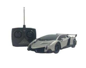 玩具的愛好愛好拉傑科德,模型車 RC 1/24 蘭博基尼貝諾 q r/c 車車模 r/c onrodrajikonker 無線電控制蘭博基尼 Veneno 超級跑車汽車模型成人和兒童玩具玩具嗎?