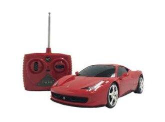 拉傑科德愛好愛好玩具,1 / 24 車模模型法拉利 458 義大利 q r/c RC 車汽車無線電控制汽車 onrodrajikonker 收音機控制法拉利超級跑車汽車模型成人和兒童玩具玩具嗎?