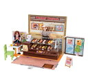 玩具 楽しく遊べるおもちゃ・着せ替え人形 リカちゃん人形 ハウス&ショップ ドーナツいっぱい ミスタードーナツショップ ※人形、ドレス、一部小物は別売です 〈大人・子供向けおもちゃ 女の子向け コレクション ファッションドール 通販〉