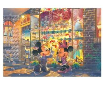 發光的拼圖迪士尼系列世界最小拼圖拼圖動畫拼圖益智系列愛好/拼圖 1000年塊 [迪士尼拼圖玩具玩具米奇 & 米妮 1000年片教育嗎?
