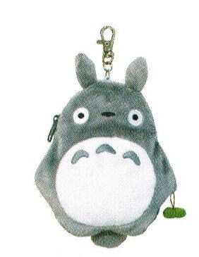 ジブリコレクション となりのトトロ リールパスケース 大トトロ 〈スタジオジブリグッズ アニメ・映画キャラクターグッズ となりのととろ 隣のトトロ 定期入れ 定期ケース パスケースぬいぐるみタイプ パスポーチ Studio Ghibli My Neighbor Totoro〉