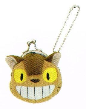 ジブリコレクション となりのトトロ キーチェーンタイプ ミニがまぐち ネコバス 〈スタジオジブリグッズ アニメ・映画キャラクターグッズ となりのととろ 隣のトトロ 小銭入れ コインケース コイン収納 こぜにいれ がま口 Studio Ghibli My Neighbor Totoro〉