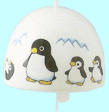 涼をお届け! 夏ものがたり 丸風鈴 ペンギン Wind-chime Wind-bell 〈夏物語 涼風ふうりん ぺんぎん 和のインテリア 通販〉