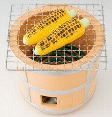 ☆楽しい焼きとうもろこしの蚊遣器☆夏ものがたり 陶器製 七輪蚊遣器 玉蜀黍 焼きとうもろ...