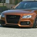★海外輸入品★アウディ Audi A5 フロントバンパーメッ...
