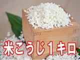 【08月31日(木)以降のお届け】米こうじ1キロ手作り味噌、甘酒、塩麹を作るのに最適な米麹