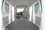 エブリイワゴン ユーティリティカラーフィングフック オプション アクセサリー