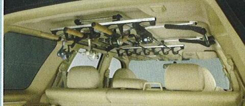 『フォレスター』 純正 SG5 SG9 ロッド(釣り竿)ホルダー パーツ スバル純正部品 Forester オプション アクセサリー 用品