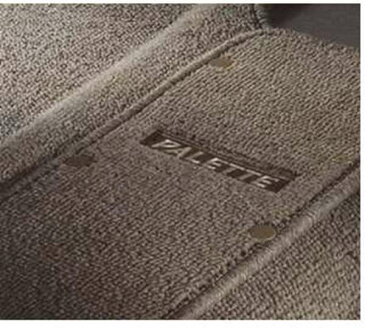 『パレット』 純正 MK21S フロアマット・ジュータン(ブレイン) パーツ スズキ純正部品 フロアカーペット カーマット カーペットマット palette オプション アクセサリー 用品